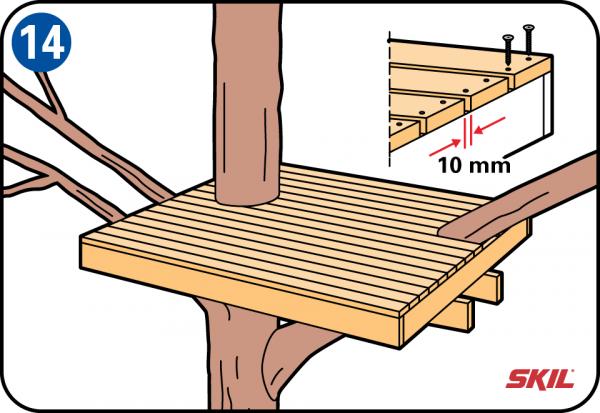 So Bauen Sie Ein Baumhaus