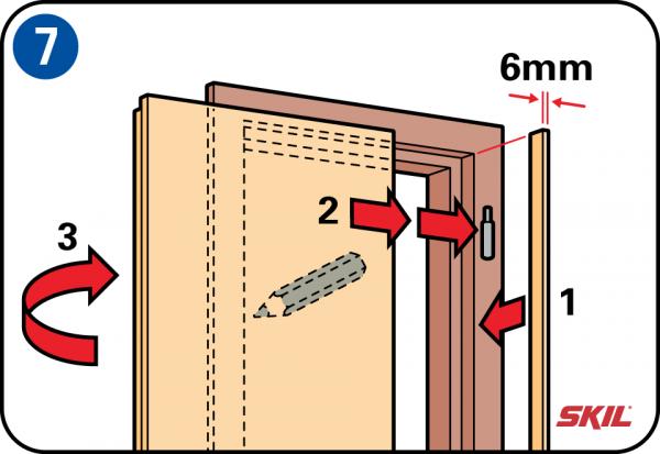 Relativ Tür kürzen und sauber glatthobeln LZ97