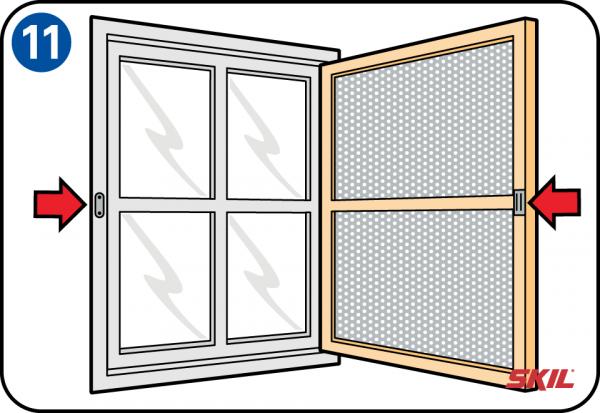 Favorit Selbst eine Fliegengittertür oder ein Fliegengitterfenster bauen JJ48