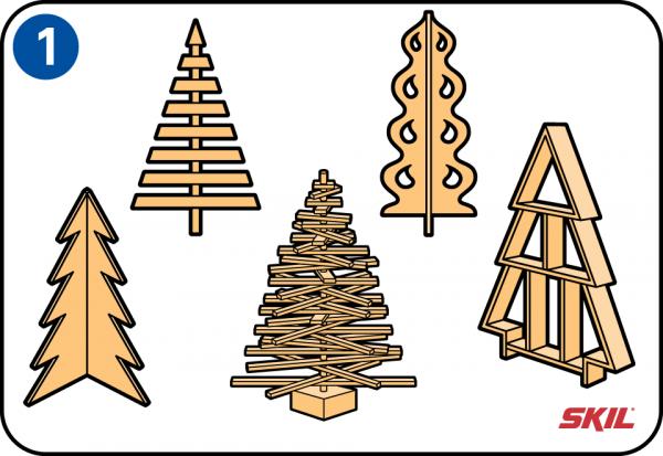 So Baut Man Einen Weihnachtsbaum Aus Holz