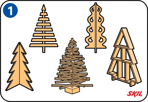 Vorlage fur holz weihnachtsbaum