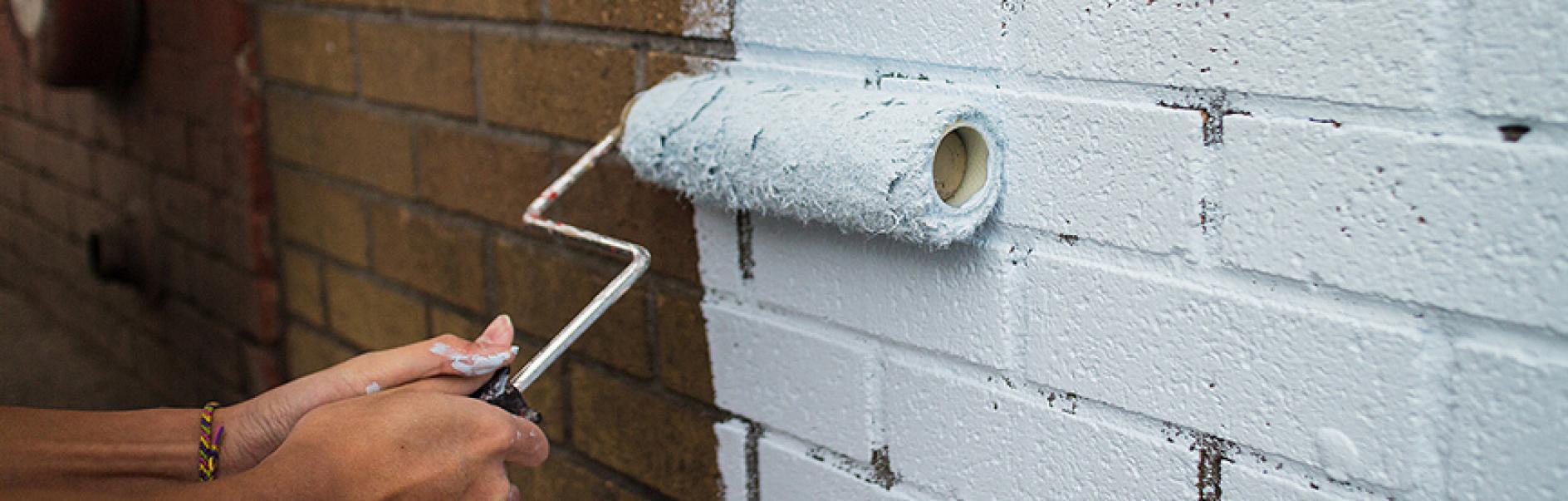 Streichen Sie Ihre Hausfassade Selbst