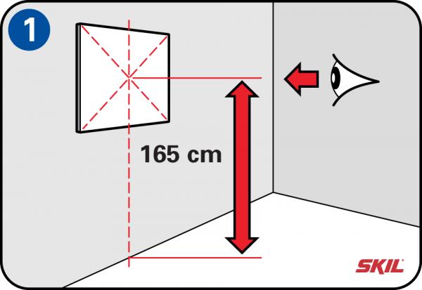 Badezimmerspiegel Hohe.Spiegel Mit Einer Bohrmaschine Aufhangen