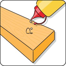 Locher In Holz Fullen