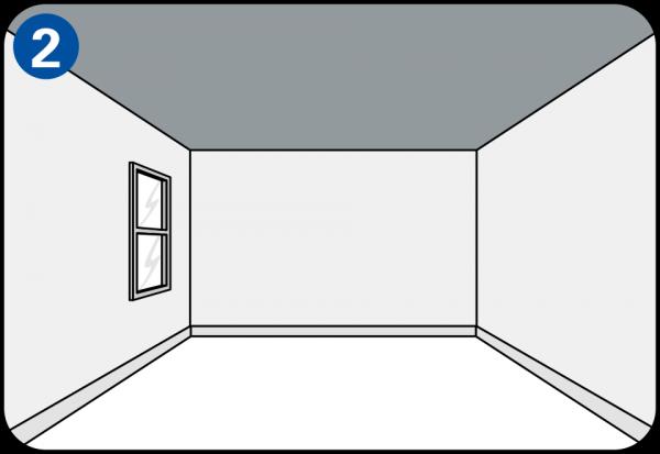streichen sie ihre w nde selbst. Black Bedroom Furniture Sets. Home Design Ideas