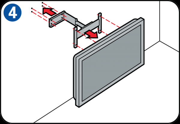 Flachbildfernseher an der Wand anbringen ~ Fernseher An Wand Montieren Höhe