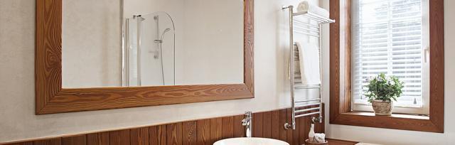 spiegel mit einer bohrmaschine aufh ngen. Black Bedroom Furniture Sets. Home Design Ideas