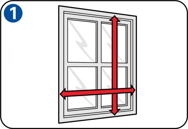 selbst eine fliegengittert r oder ein fliegengitterfenster bauen. Black Bedroom Furniture Sets. Home Design Ideas