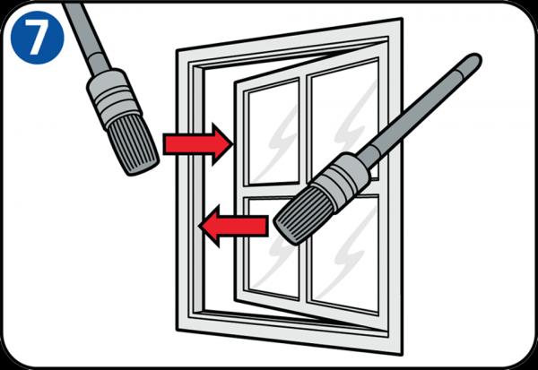 Selbst einen fensterrahmen streichen - Fensterrahmen innen streichen ...
