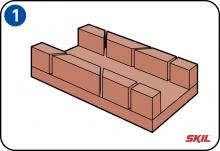 auf gehrung schneiden. Black Bedroom Furniture Sets. Home Design Ideas